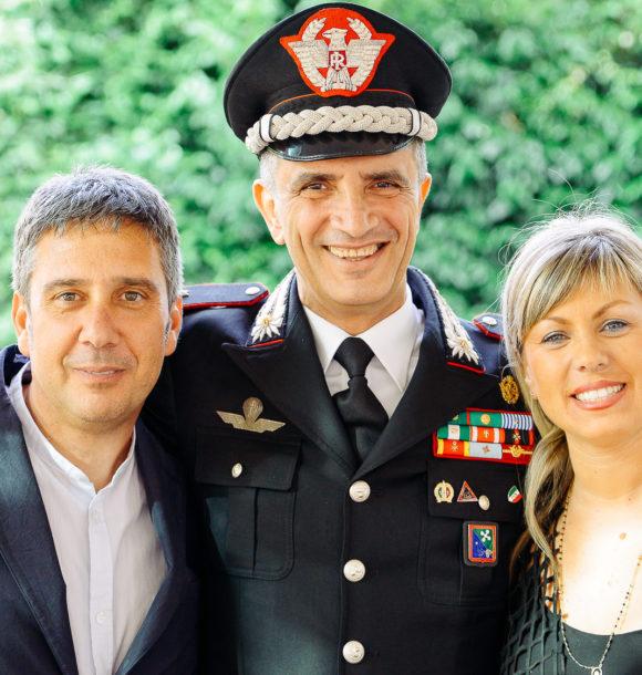 CLAUDIO CUTULI DISEGNA LA STORIA DELL'ARMA DEI CARABINIERI